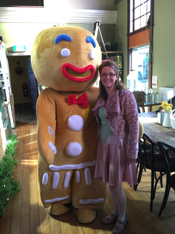 narelda Joy gingerbread